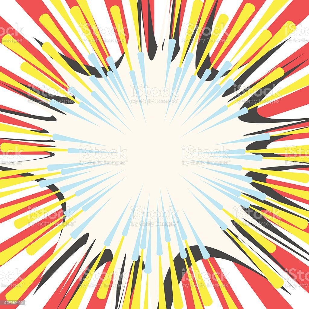 Comic book vector effects vector art illustration
