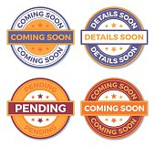Coming Soon and Pending Badges