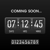 Coming soon countdown timer