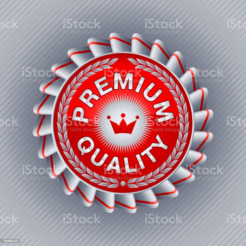 Commerce Label vector art illustration
