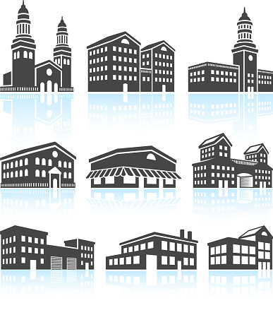Shopping Mall Clip Art Vector Images Illustrations IStock