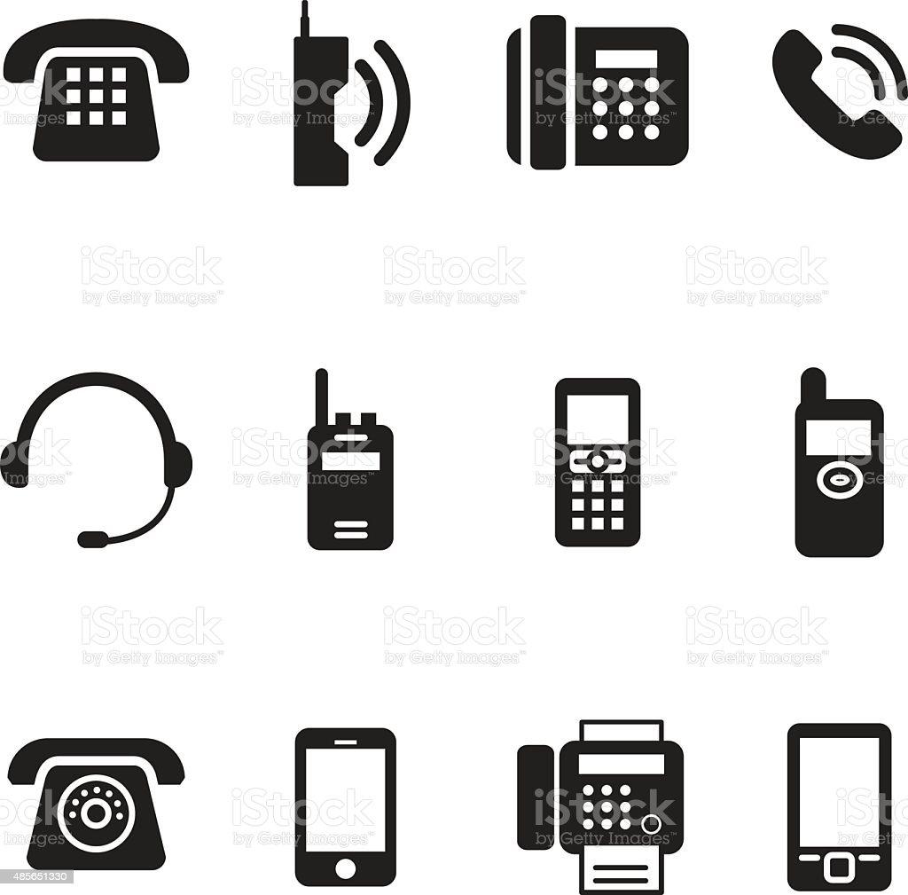 communication, call, phone vintage, retro telephone Vector Illus vector art illustration