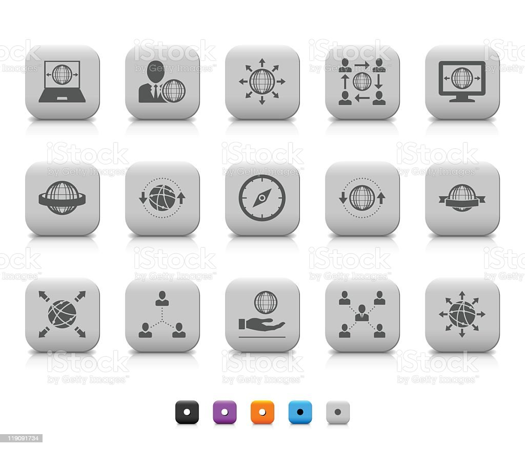 Communication icon royalty-free stock vector art
