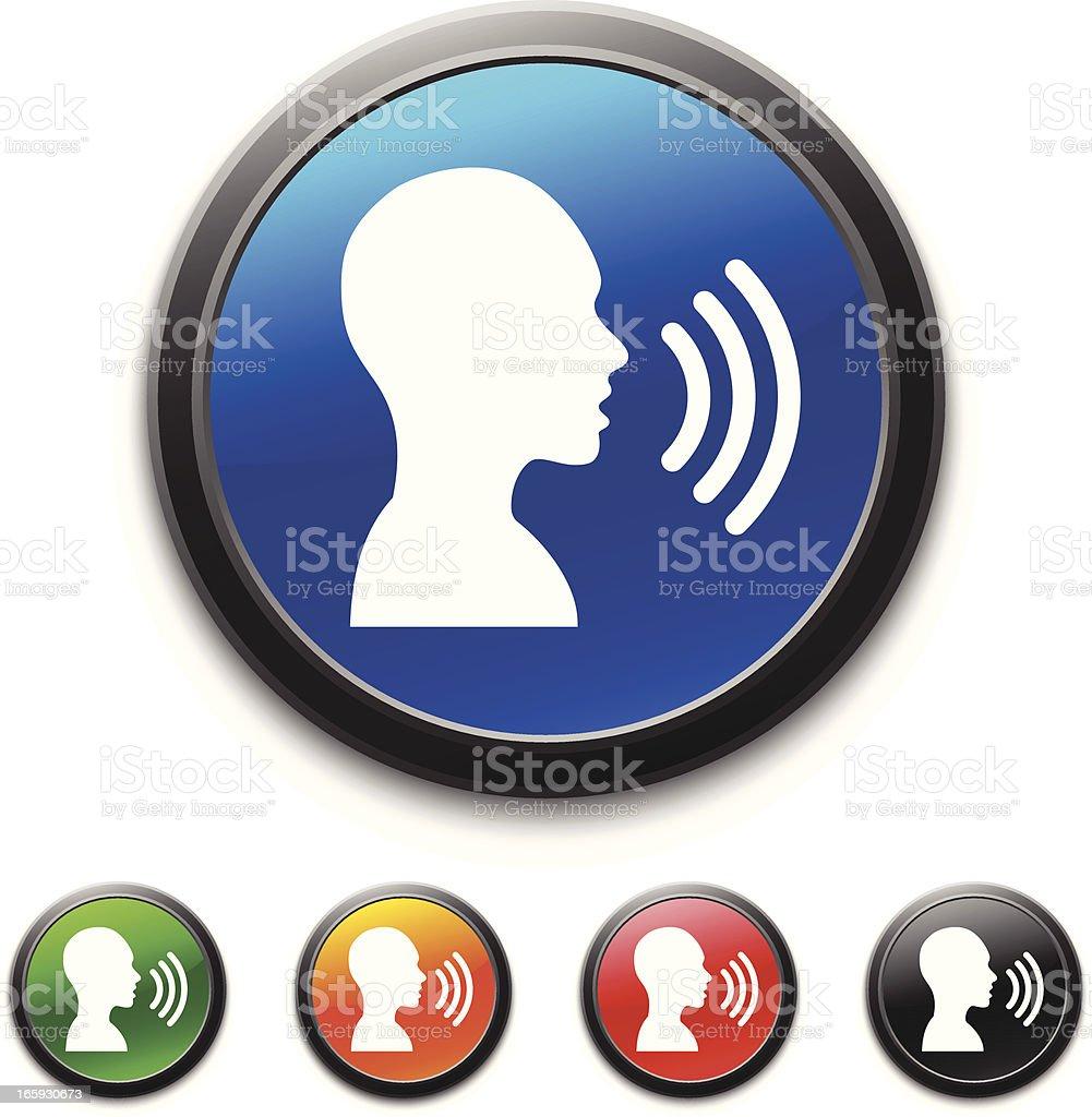 Communication icon vector art illustration