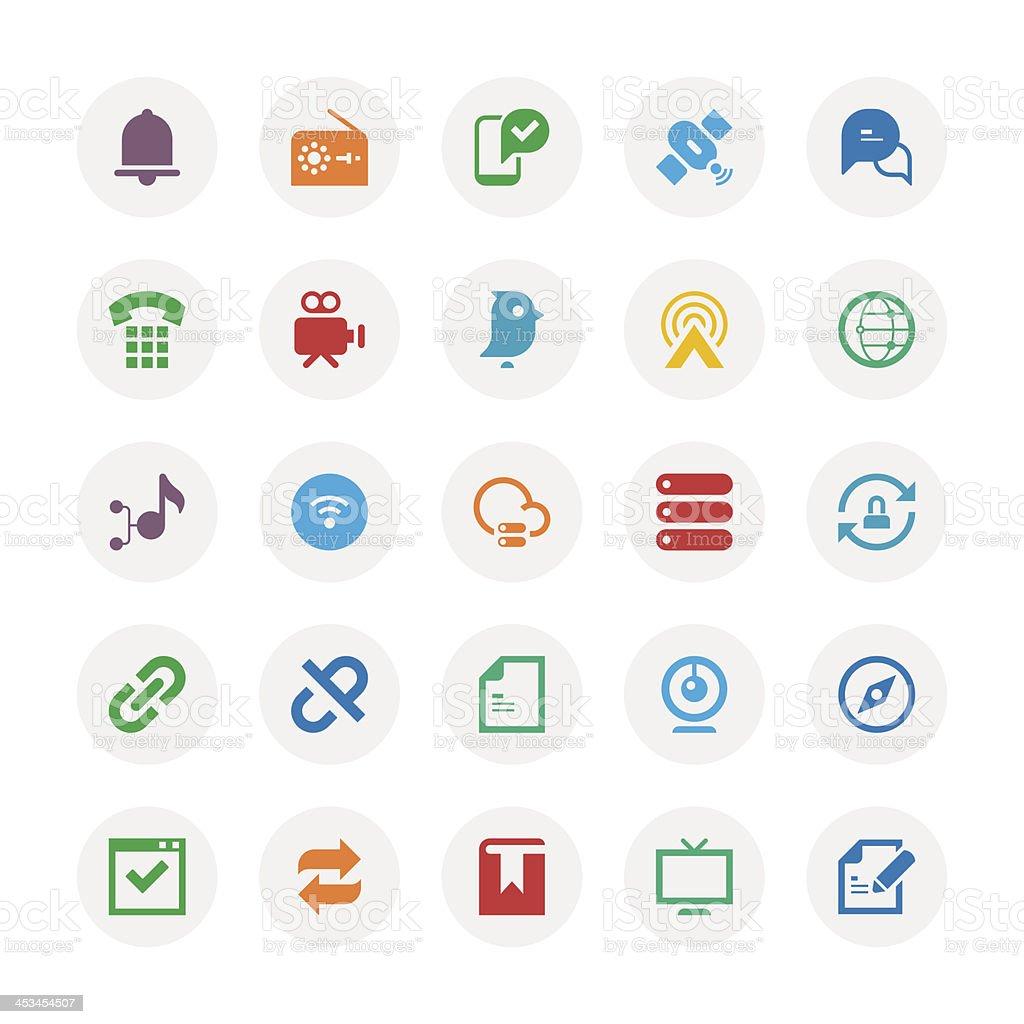 Communication icon royalty-free stock vector art