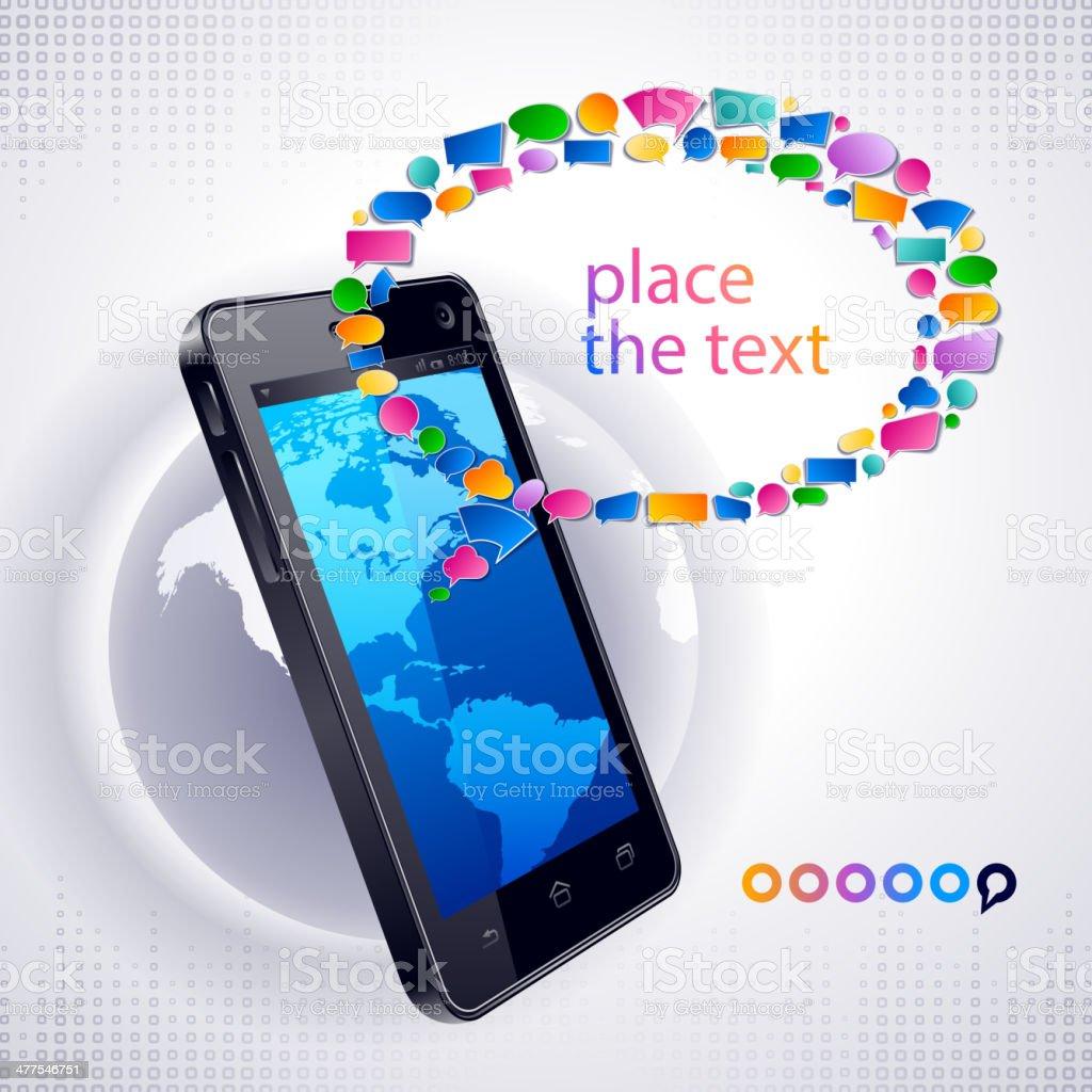 Communication Technology royalty-free stock vector art
