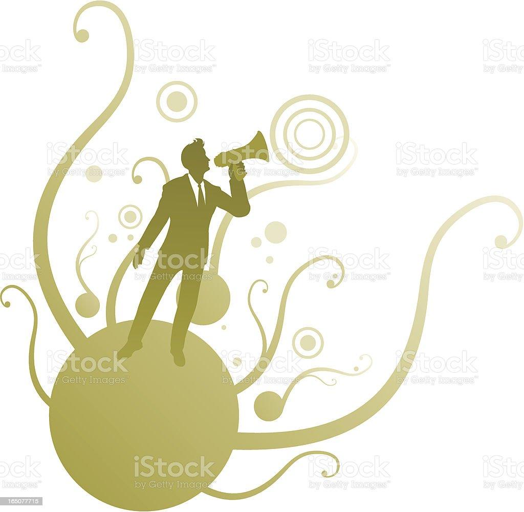 Communication. vector art illustration