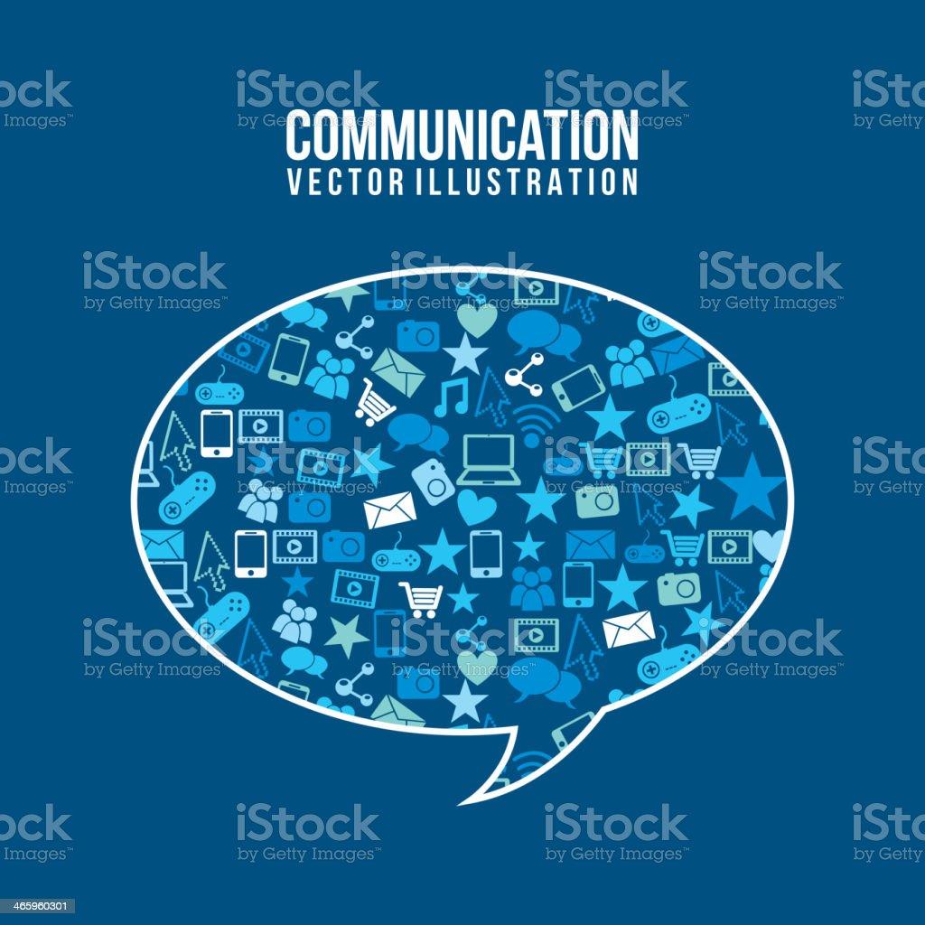 Communication royalty-free stock vector art