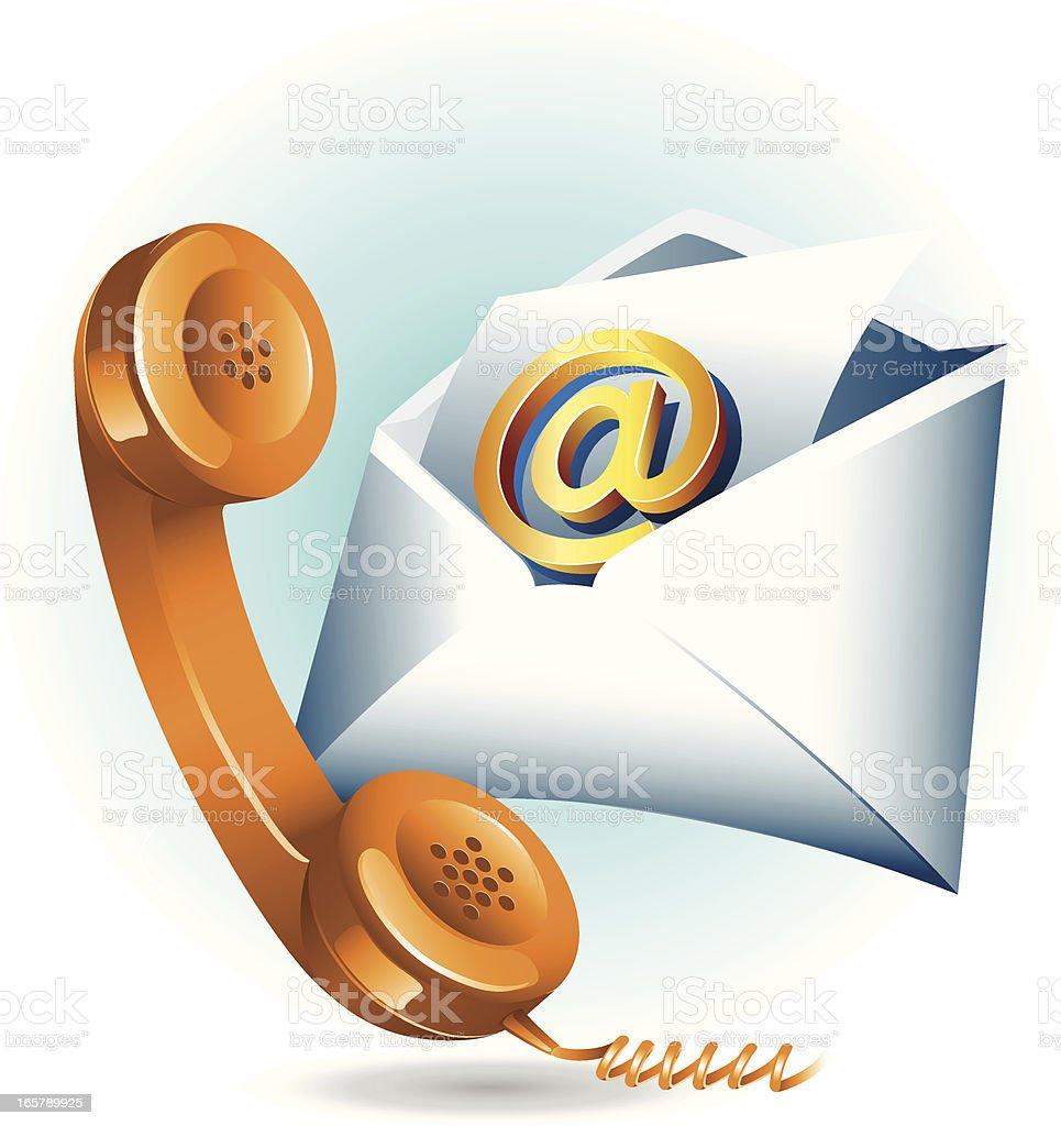 Communications Technology vector art illustration