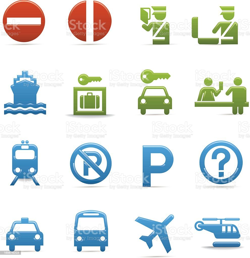 Compact Concepts: Travel Information royalty-free stock vector art