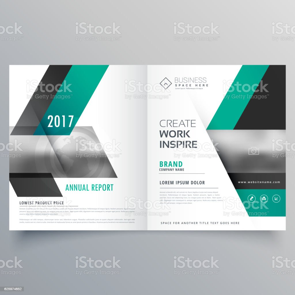 company cover page magazine booklet design for your brand stock 1 credit
