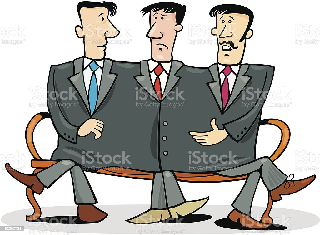 company partners royalty-free stock vector art