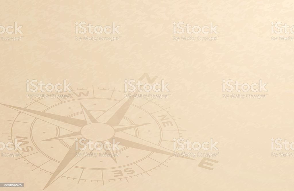 Compass Discovery Background vector art illustration