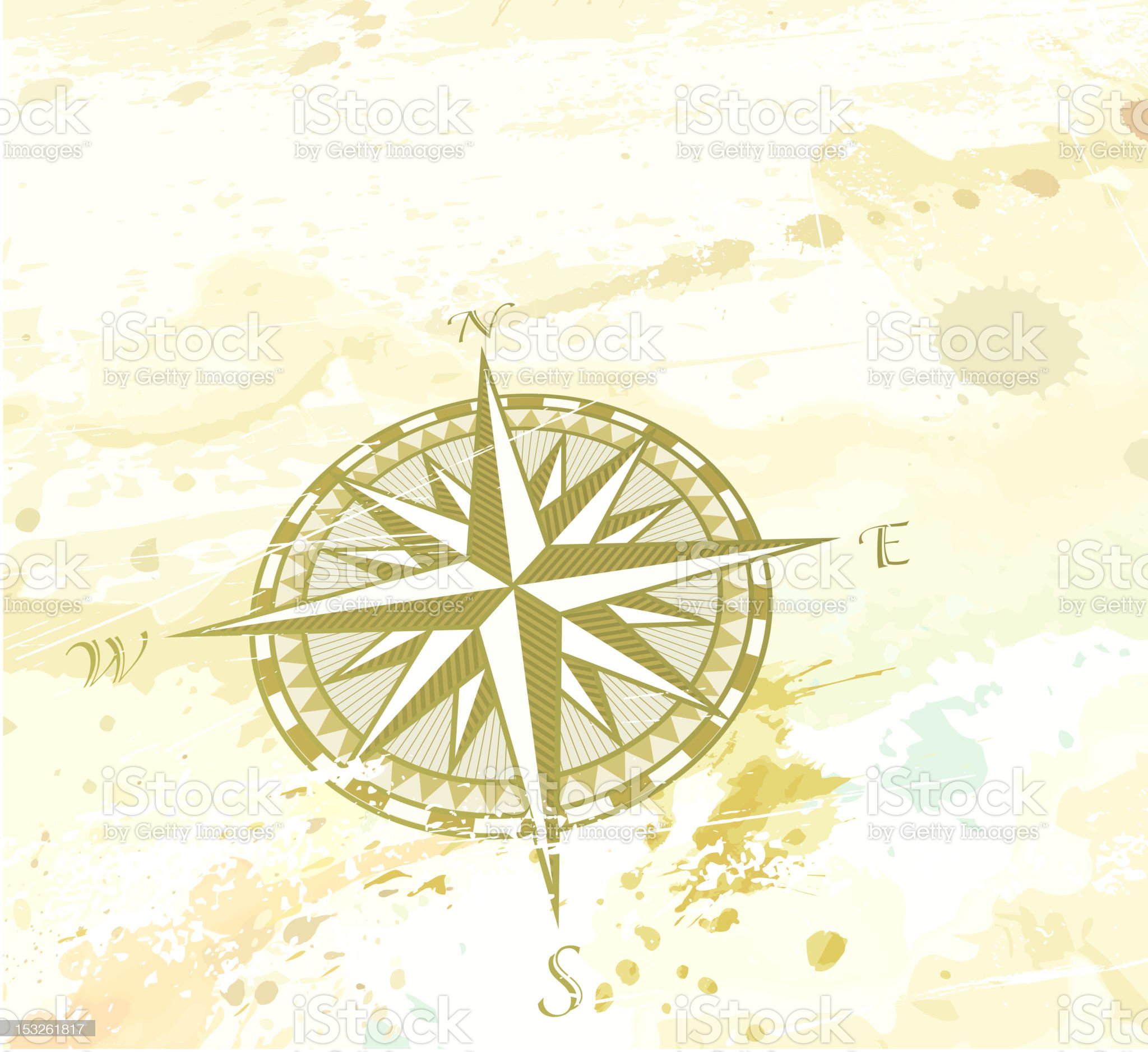 compass windrose royalty-free stock vector art