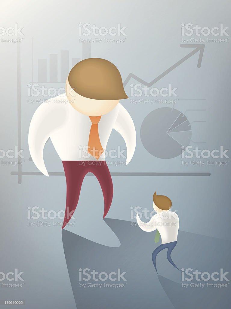 competitor vector art illustration