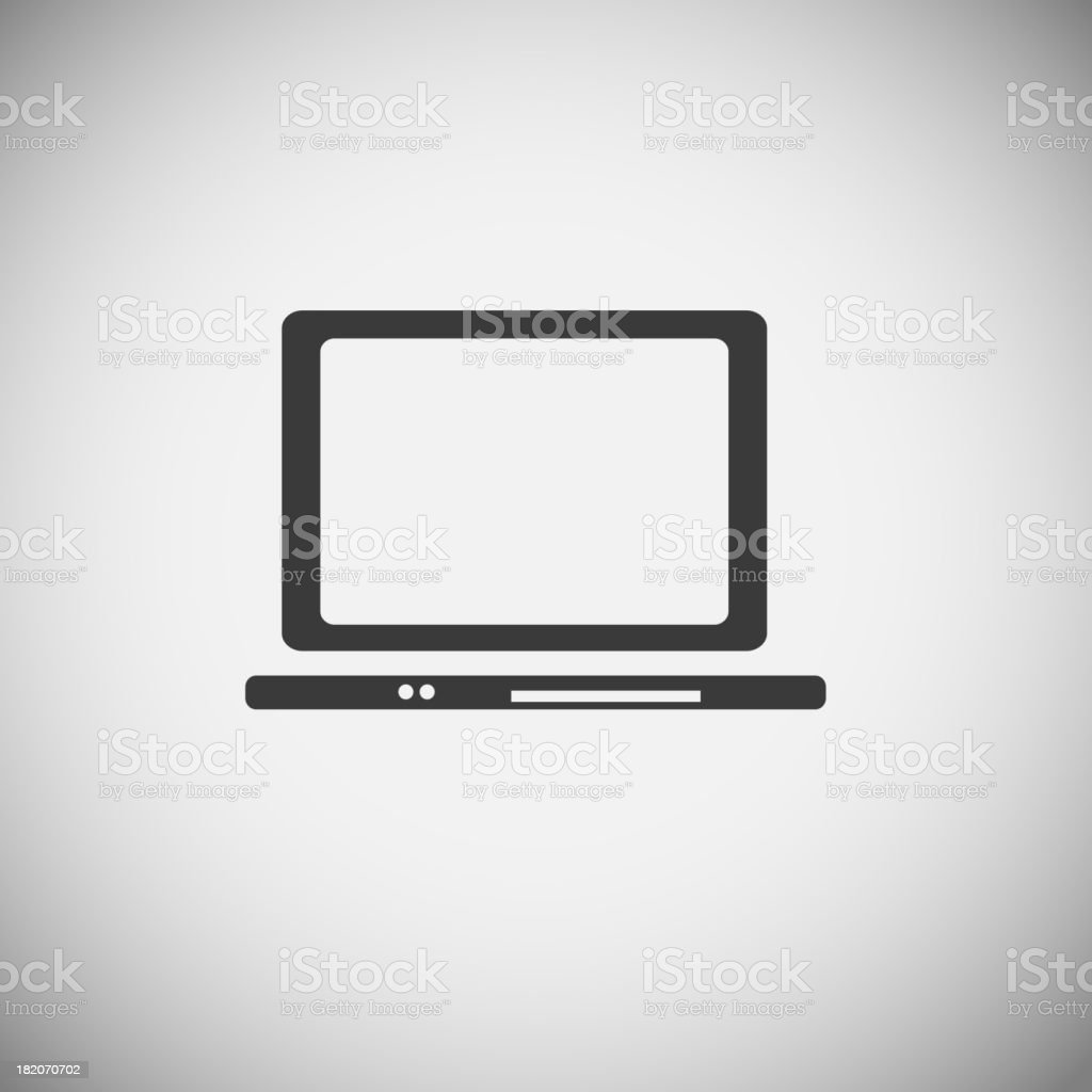 Computer application icons royalty-free stock vector art