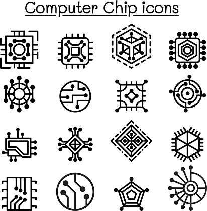 Circuit Board Clip Art, Vector Images & Illustrations - iStock