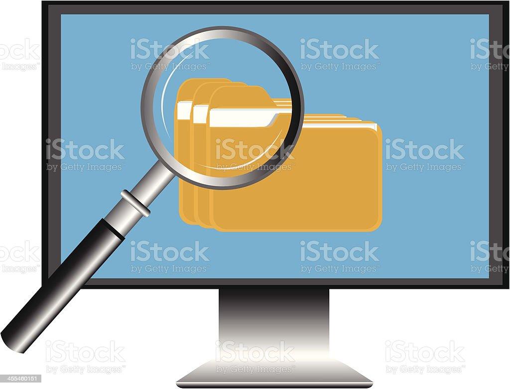Resultado de imagem para ilustração pesquisa no computador