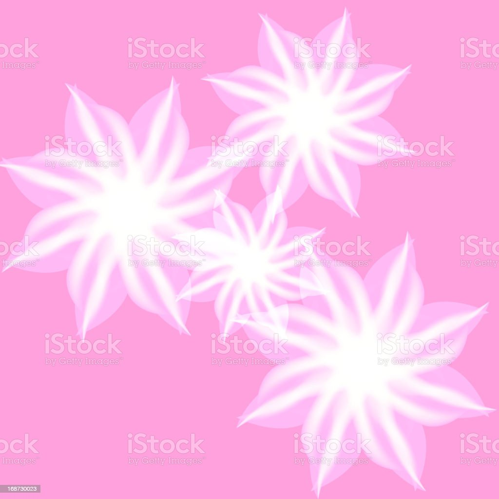 computer flower shape background royalty-free stock vector art