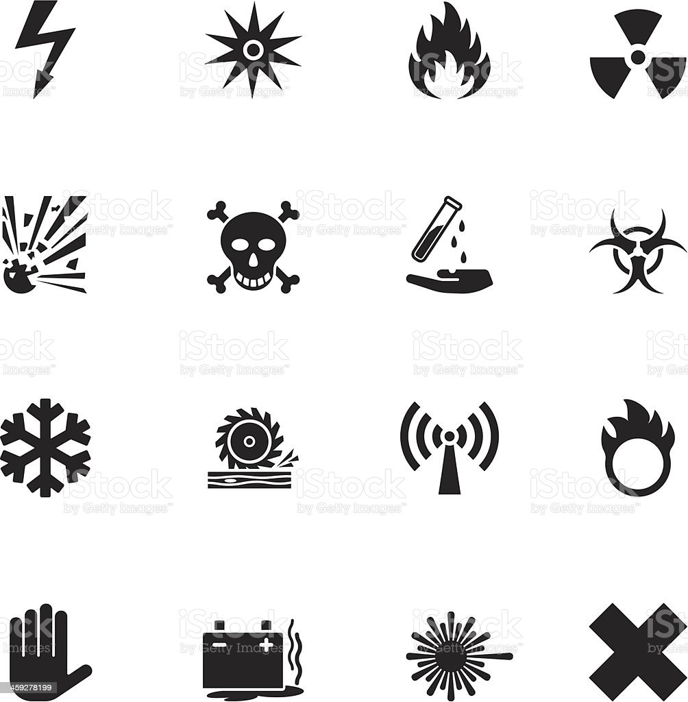computer icon set vector art illustration