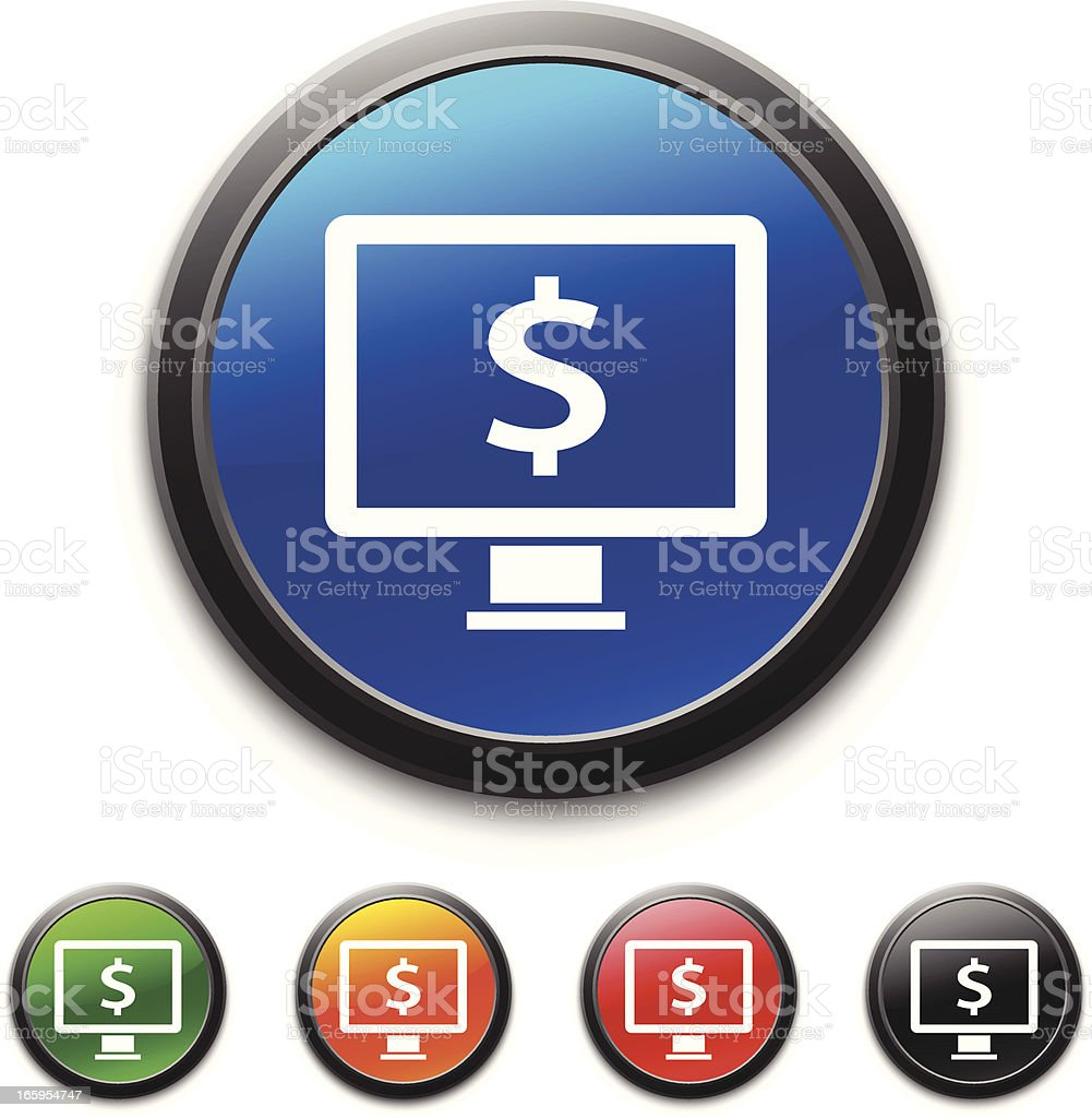 Computer icon royalty-free stock vector art