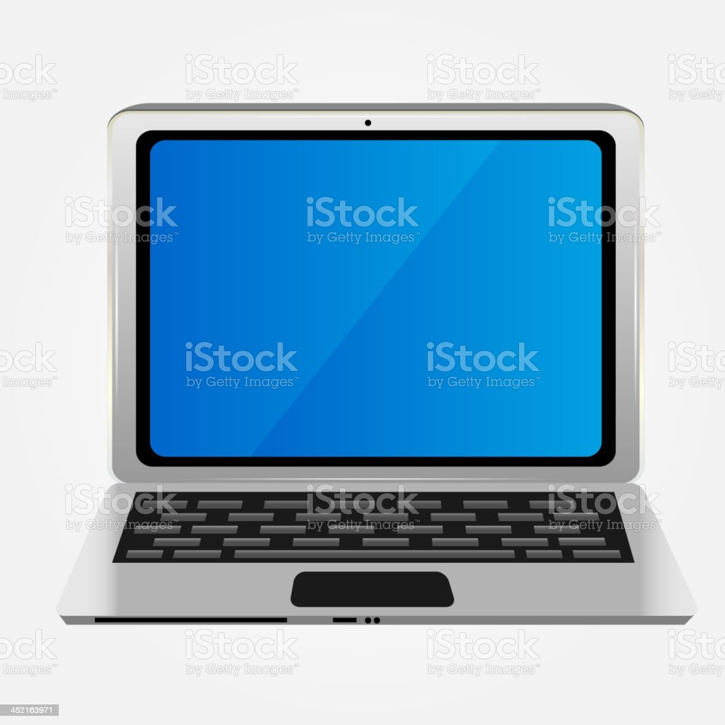 Computer icon vector illustration royalty-free stock vector art