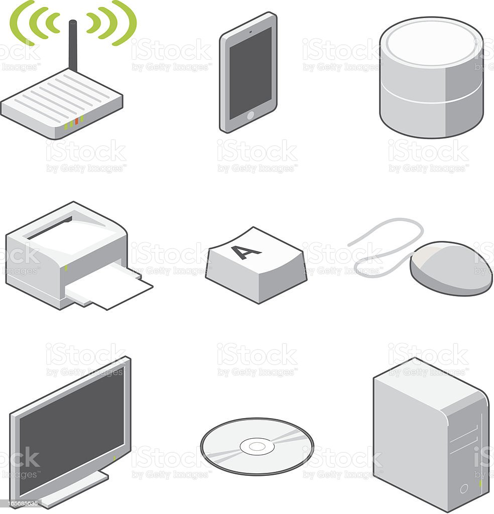 computer icons royalty-free stock vector art