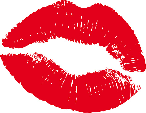 Lipstick Kiss Clip Art, Vector Images & Illustrations - iStock