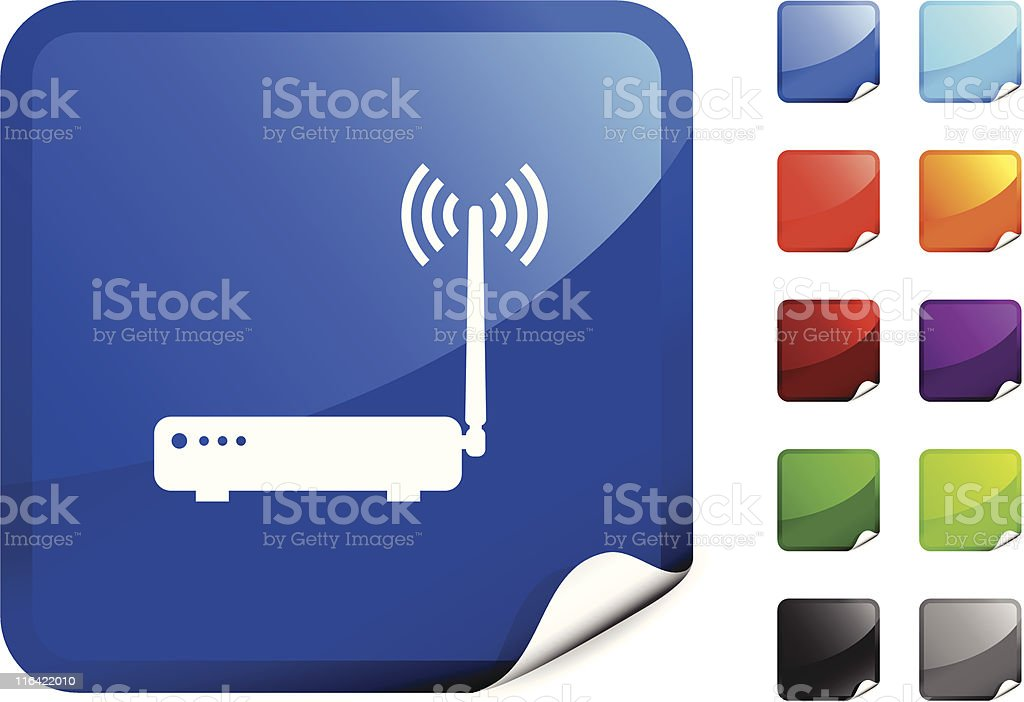 computer internet router royalty free vector art royalty-free stock vector art