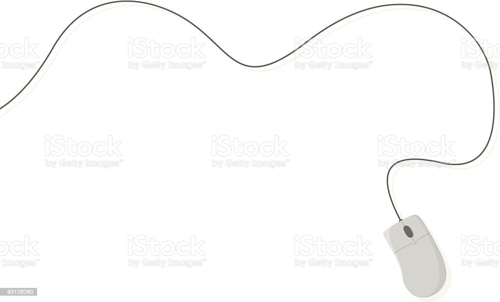 Computer Mouse Background royalty-free stock vector art
