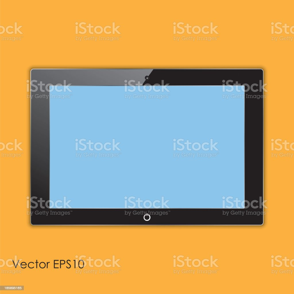 computer tablet royalty-free stock vector art