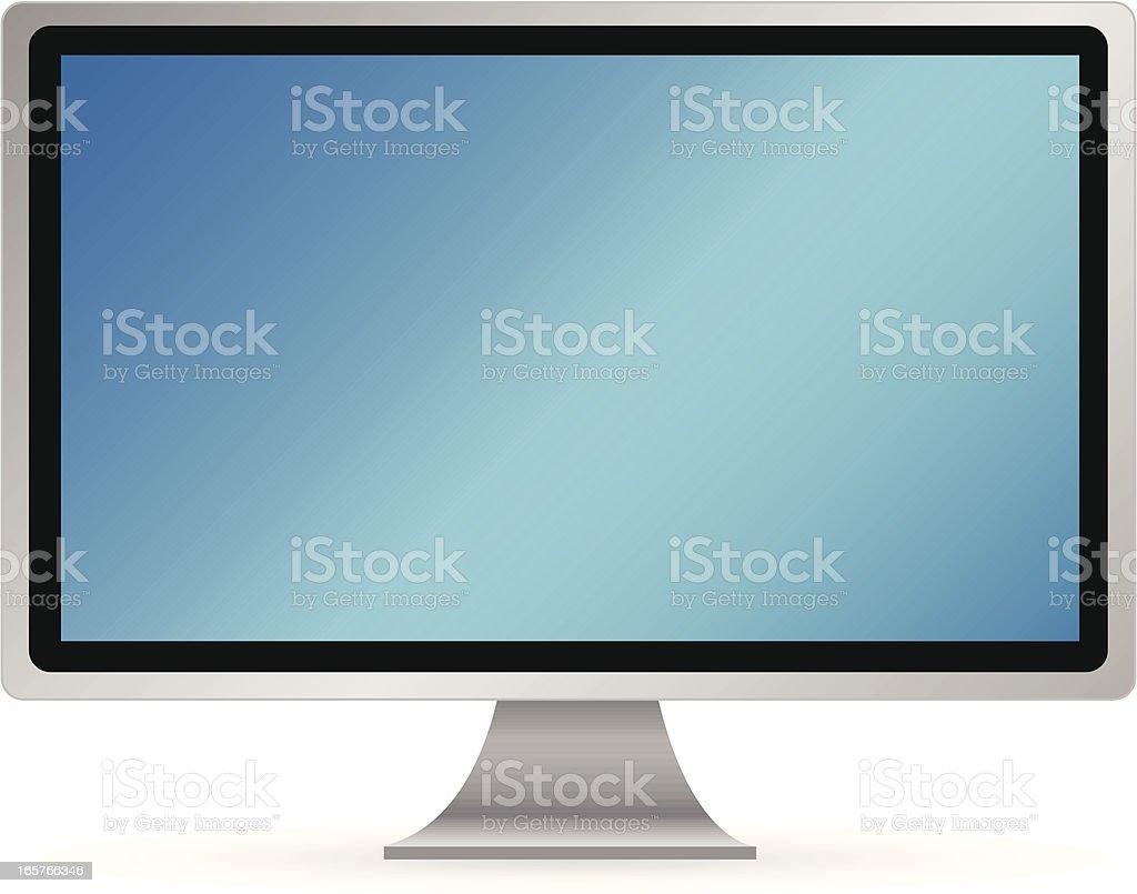 Computer/Monitor royalty-free stock vector art