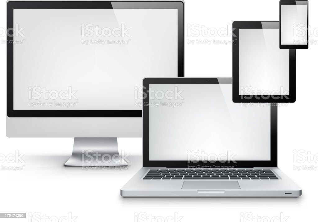 Computers royalty-free stock vector art