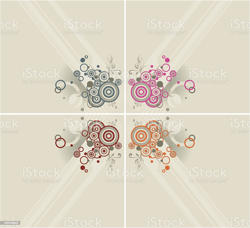 concentric corners royalty-free stock vector art