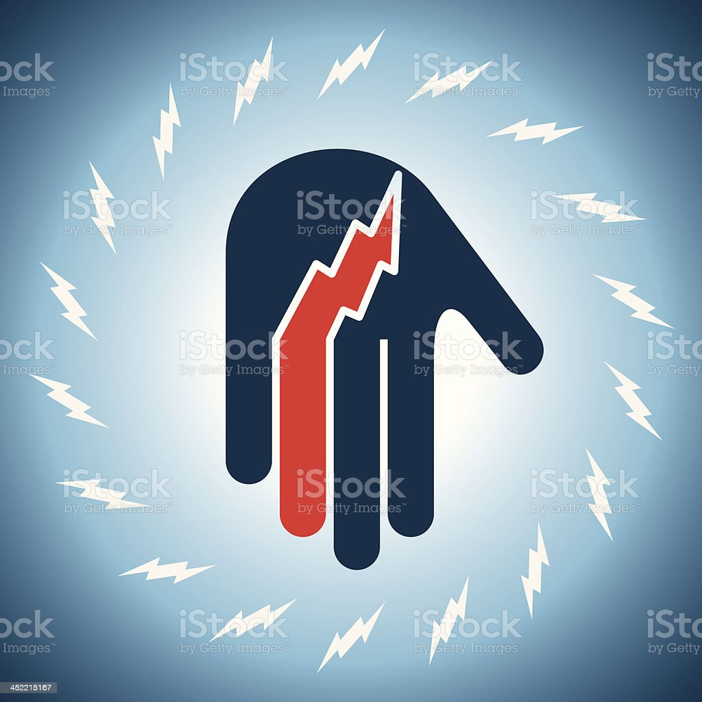 concept of power royalty-free stock vector art