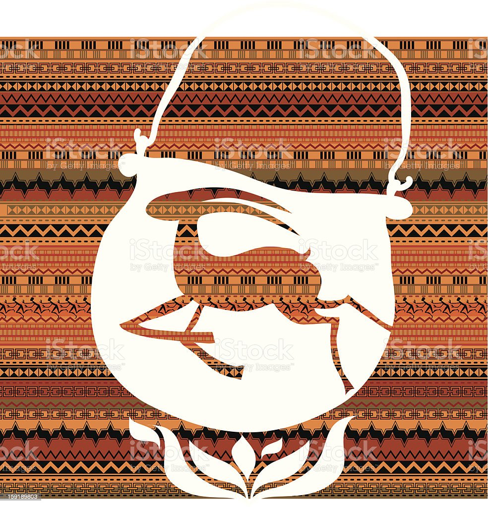 concept proverb about antelope vector art illustration