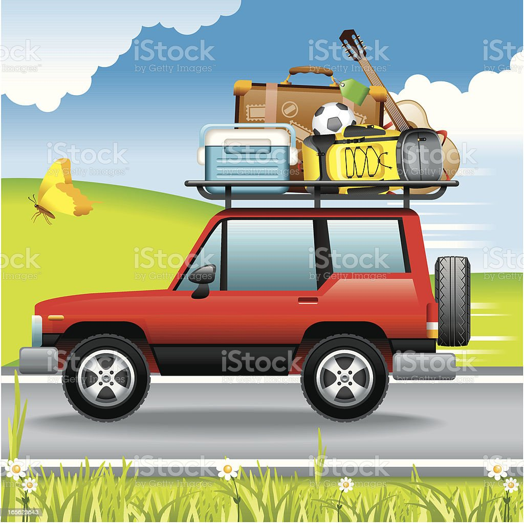 Concept, Vacations royalty-free stock vector art