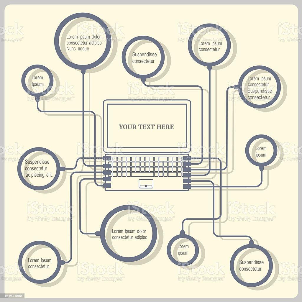 Concept web design template royalty-free stock vector art