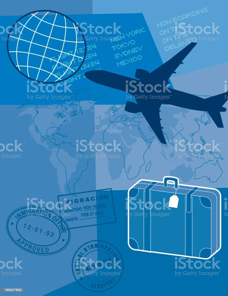 concepts- travel & transport royalty-free stock vector art