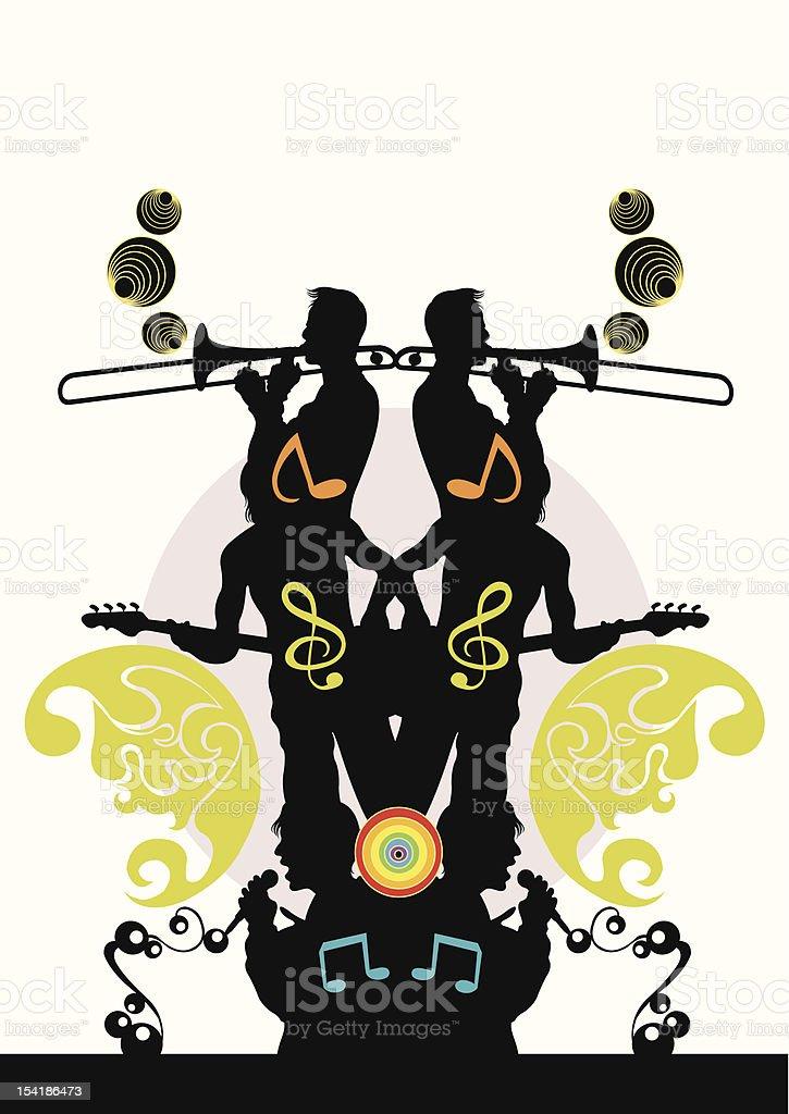 Concert royalty-free stock vector art