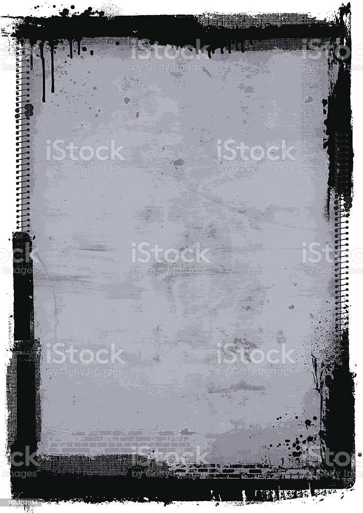 Concrete grunge background royalty-free stock vector art