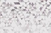 Concrete Triangle Gradient Pattern