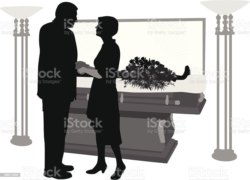 Condolences royalty-free stock vector art