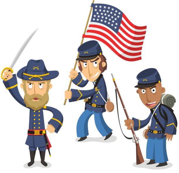 American Civil War Clip Art, Vector Images & Illustrations ...