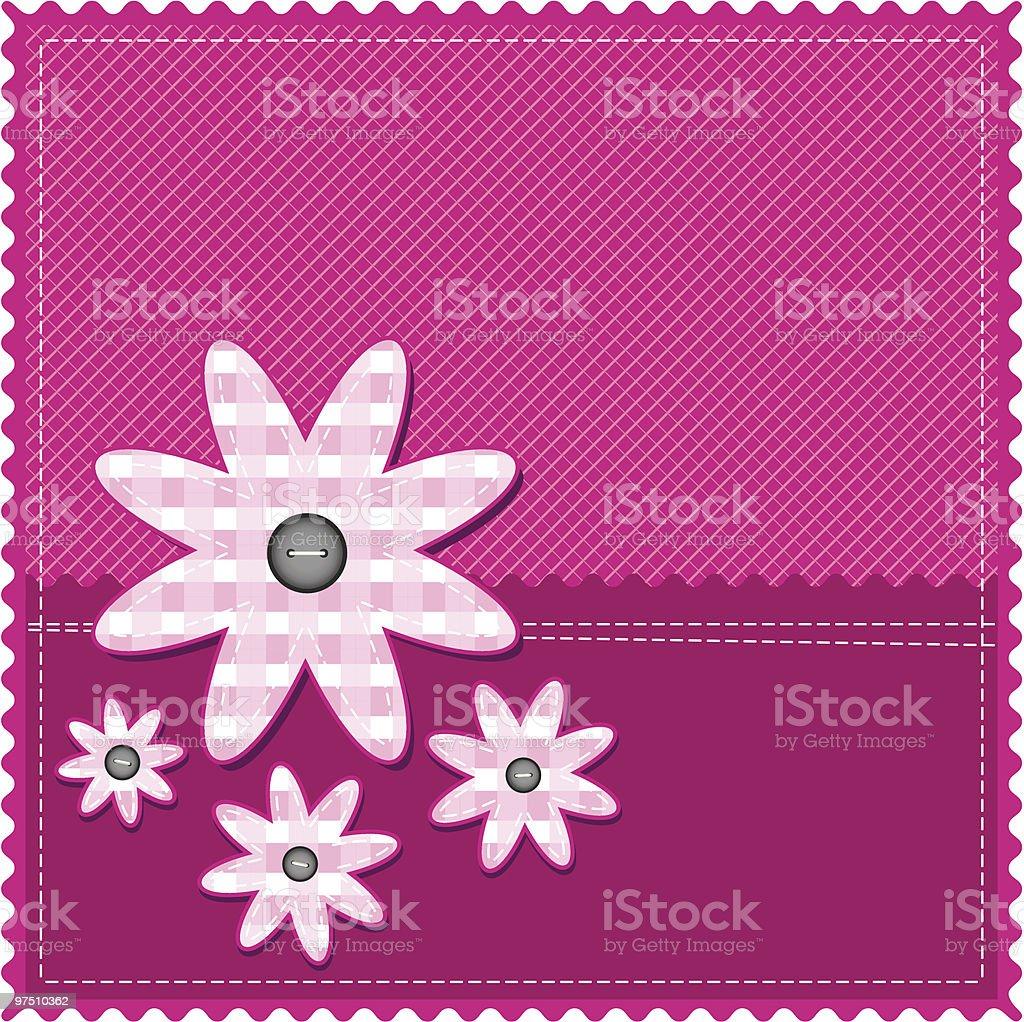 congratulation card for girl royalty-free stock vector art