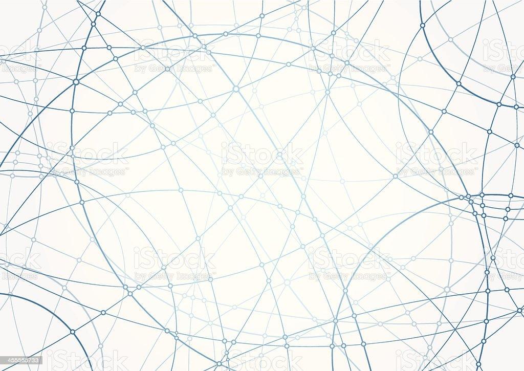 Connect Dots vector art illustration