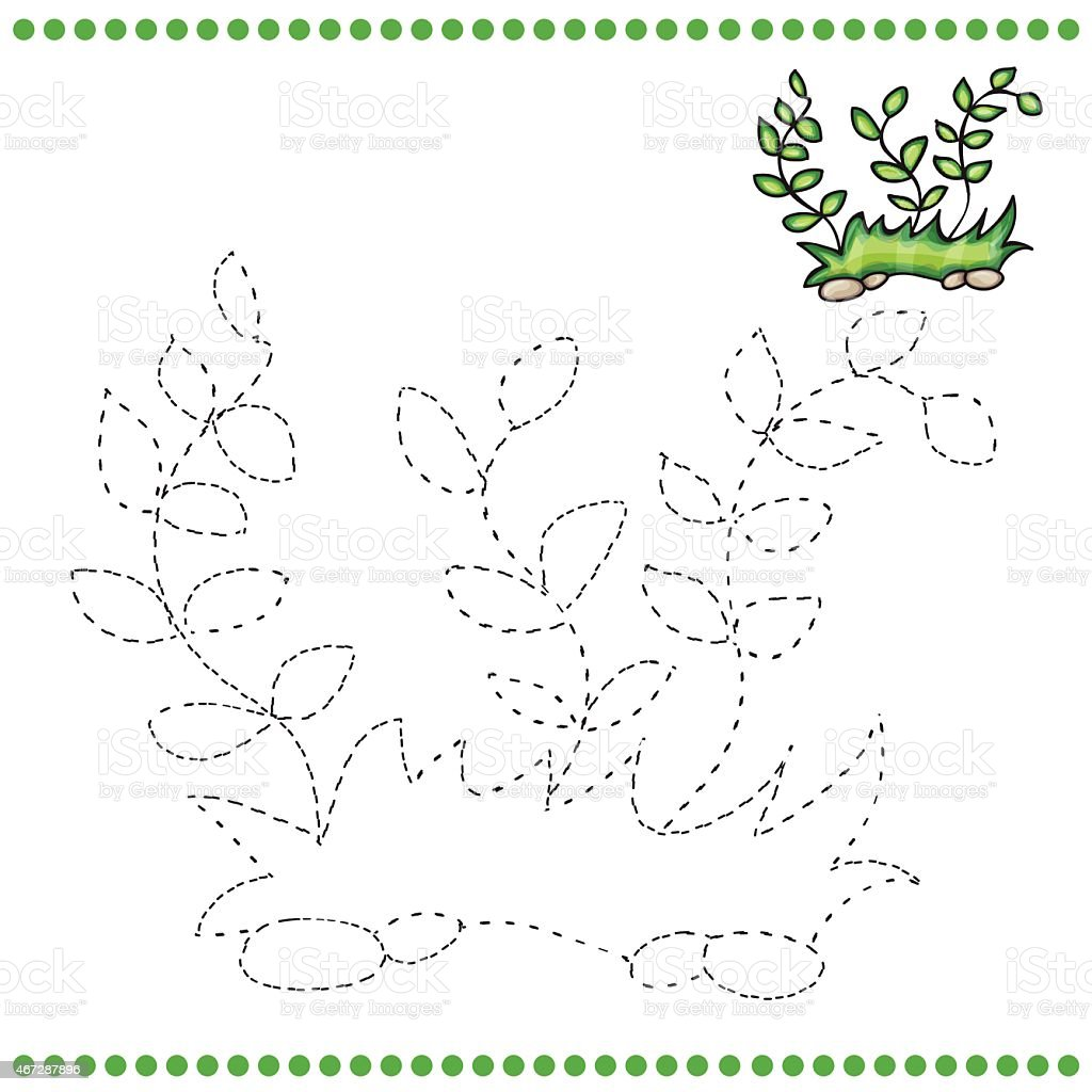 Connect The Dots And Coloring Page Royalty Free Stock Vector Art