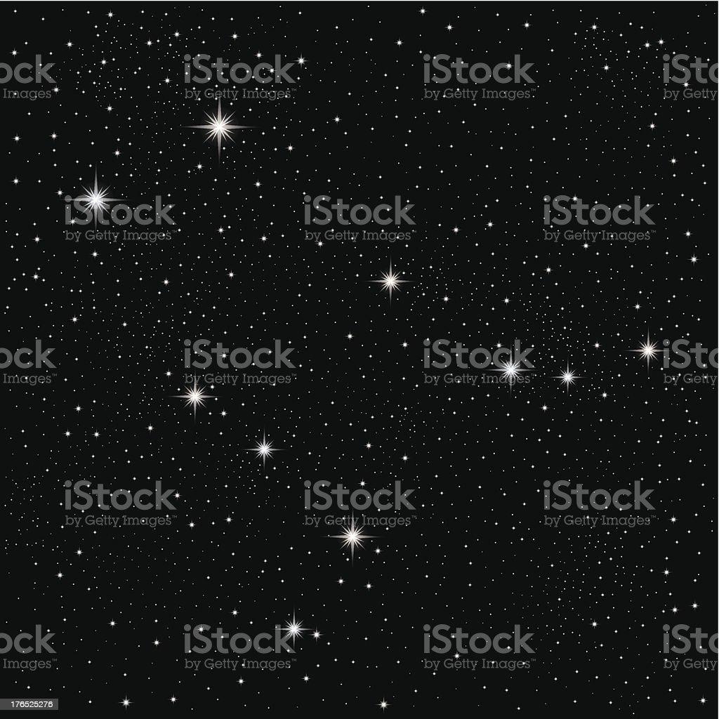 Constellation Gemini royalty-free stock vector art
