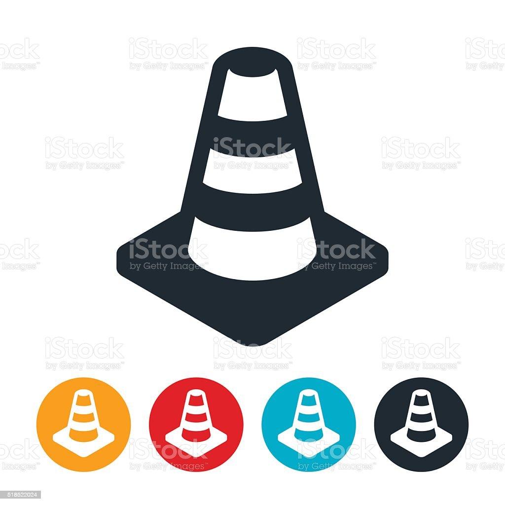 Construction Cone vector art illustration
