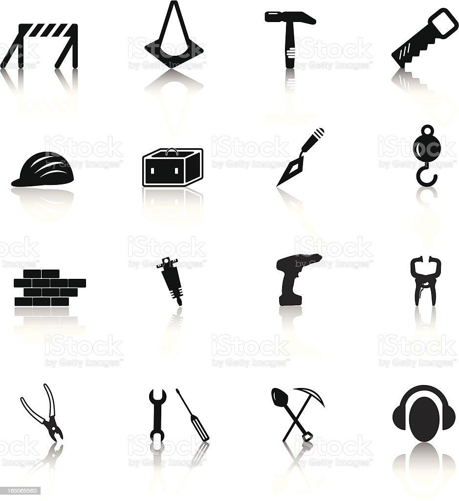 Construction Series royalty-free stock vector art